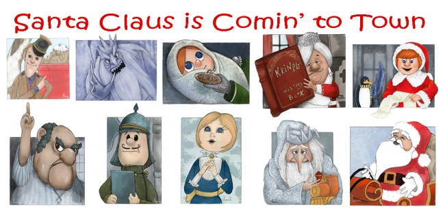 Santa Claus is coming to Town_Collective